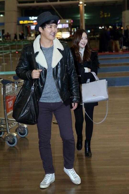 Yoon Sang Hyun and MayBee 1
