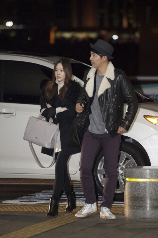 Yoon Sang Hyun and MayBee 2