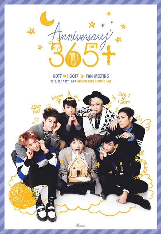 "GOT7 to Celebrate One-Year Debut Anniversary with ""365 ..."