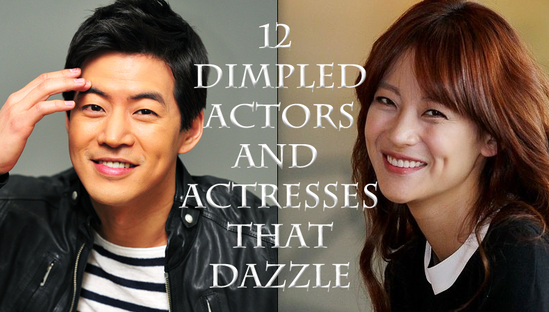 12 Dimpled Korean Actors and Actresses that Dazzle