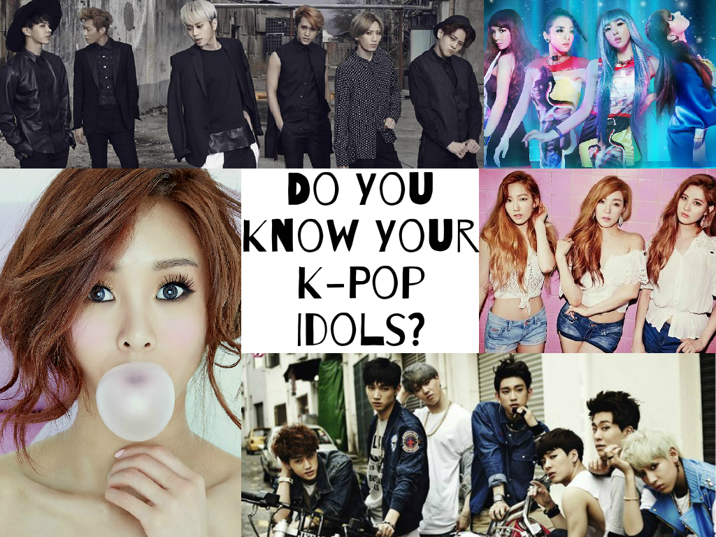 Quiz Do You Know Your K Pop Idols Soompi