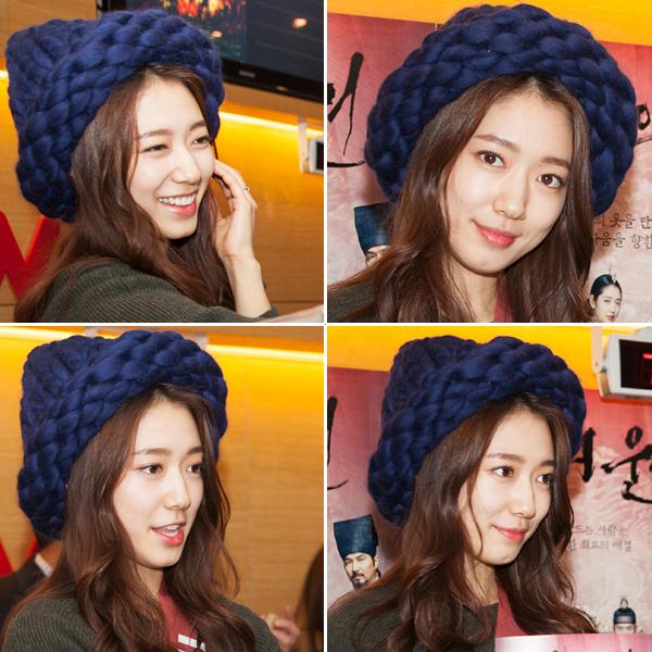 Park Shin Hye in the Loopy Mango Helsinski Hat