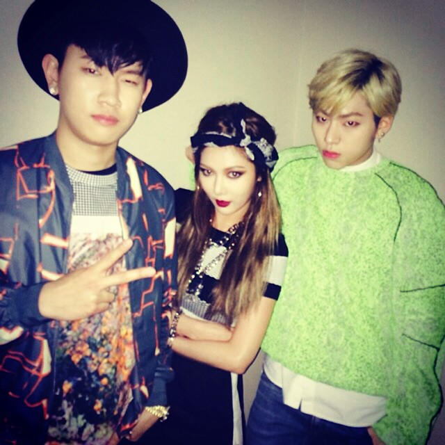 hyuna crush zico