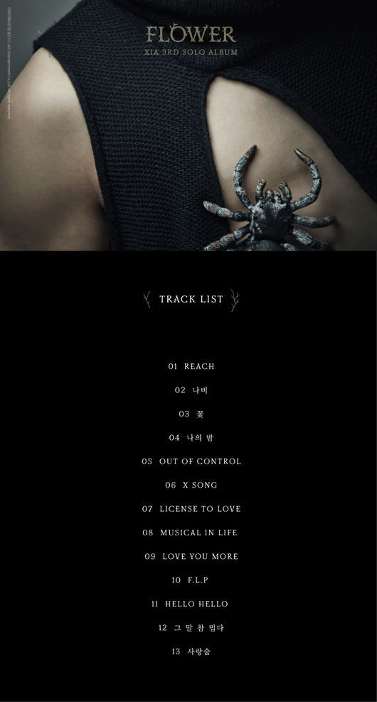 junsu tracklist