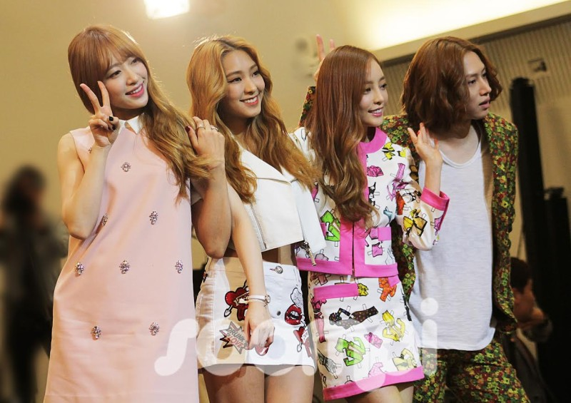 "Heechul, Hara, Bora, Hani Choose Who Has the Worst Fashion Sense at ""A Style For You"" Press Conference"