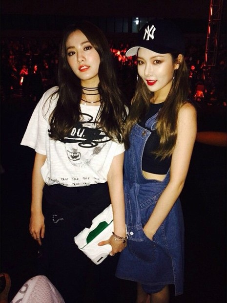 hyuna and nana
