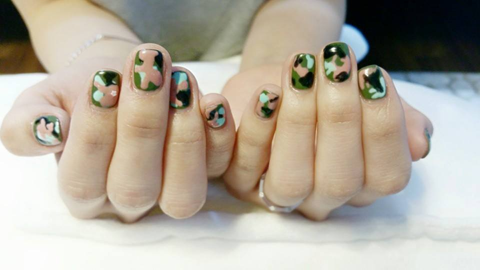 kim sa eun nail art