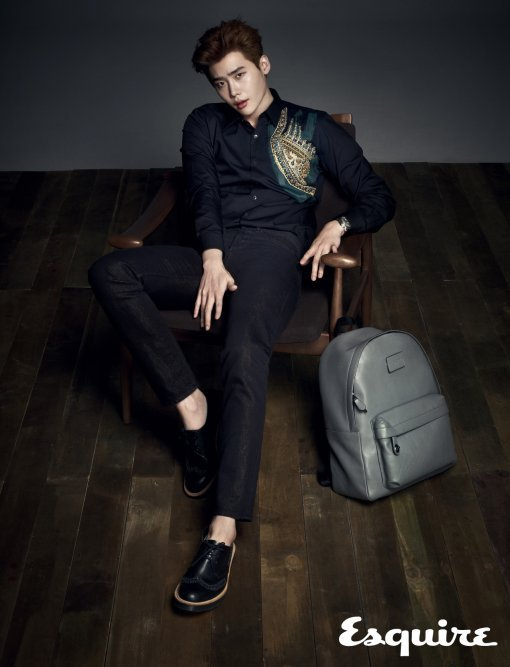 Lee Jong Suk Looks Sexy And Masculine In Esquire Pictorial