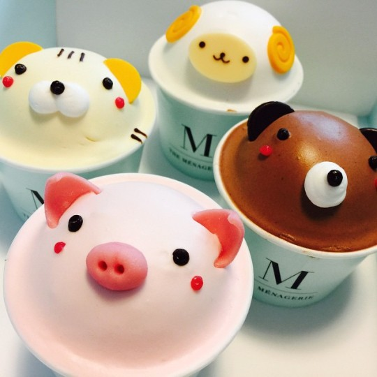 Animal Cupcakes And Cakes At The Menagerie Seoul