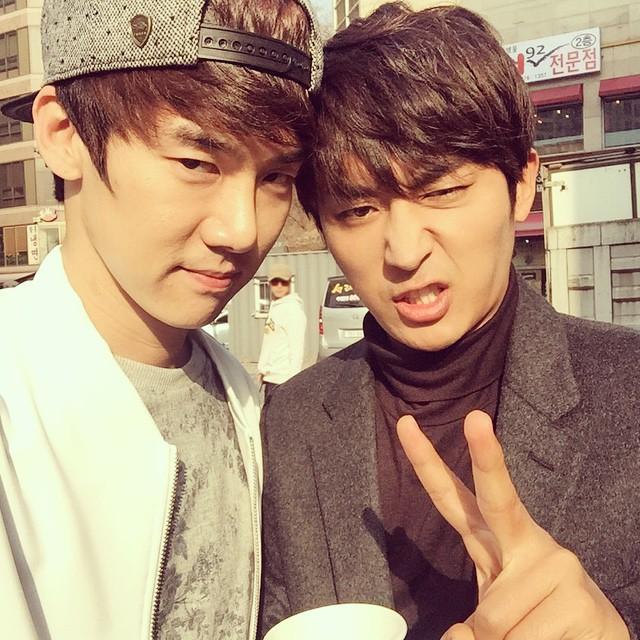 son ho joon yoo yeon seok instagram 2