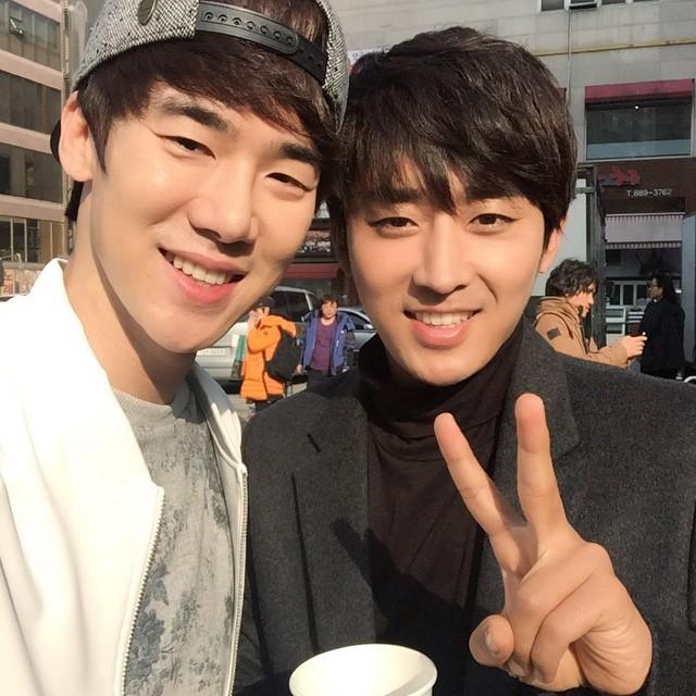 son ho joon yoo yeon seok instagram