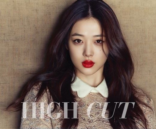 sulli comes out of hiatus for mature and sexy high cut