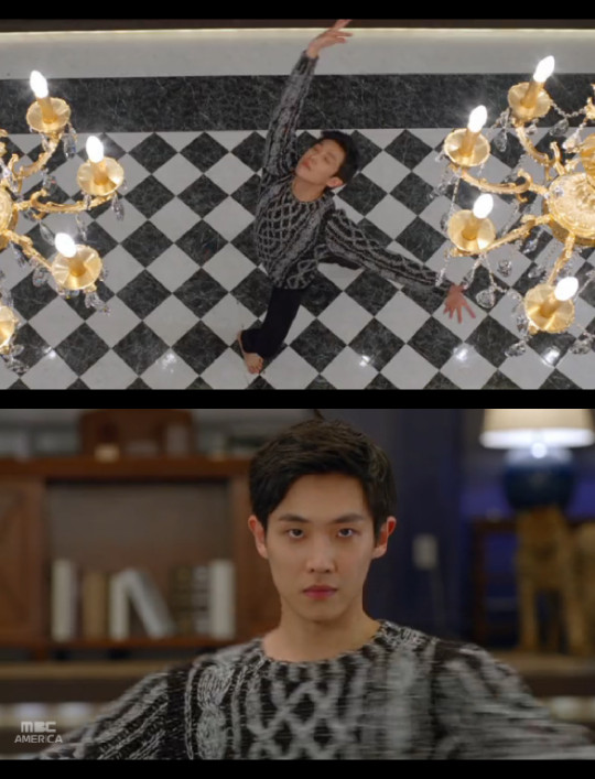 Lee Joon mr baek dance collage