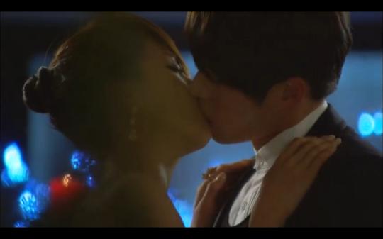 secret garden dance kiss scene