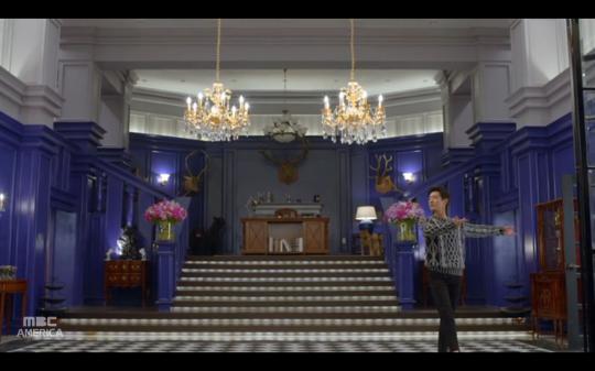 mr. baek dance scene
