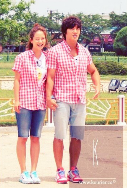 Song Ji Hyo Running Man kim Jong Kook 1