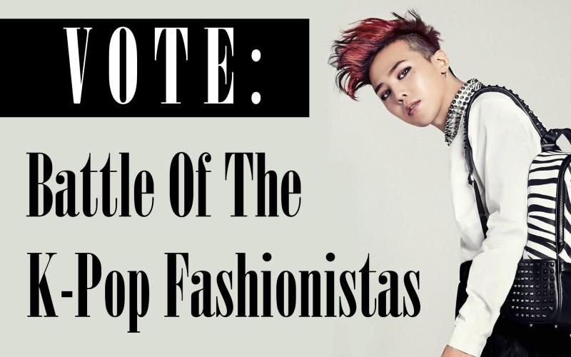 VOTE: Battle of the K-Pop Fashionistas