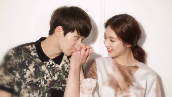 quotwe got marriedquot gong seung yeon and lee jong hyun couple