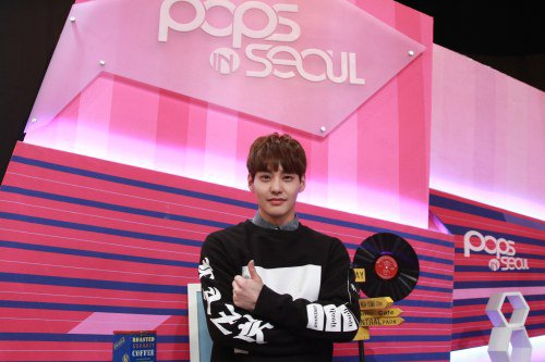 Jjccs Eddy Becomes Solo Mc Of Pops In Seoul