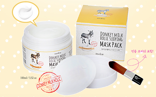 Imselene Donkey Milk Sleeping Mask Pack