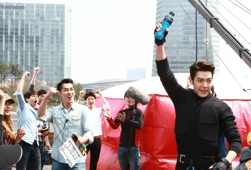 Kim Woo Bin powerade cf bts 3