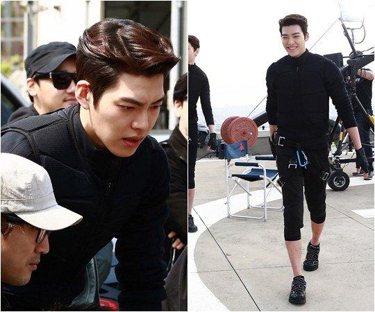 Kim Woo Bin powerade cf bts 4