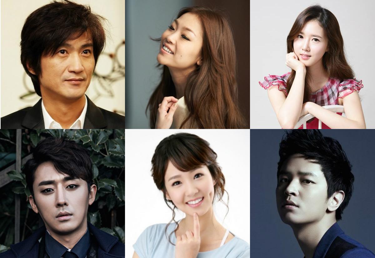 JTBC Oh Jung Yeon, Son Ho Joon, Park Jung Hyun, Kim Jung Hoon, Ahn Nae Sang, F-ve Dolls Seunghee