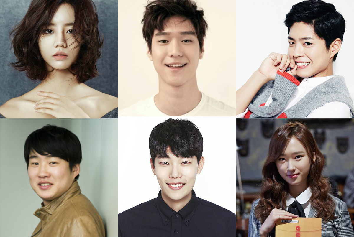 Ryu Hae Young, Go Kyung Pyo, Ryu Joon Yeol, Park Bo Gum, Ahn Jae Hong, Lee Dong Hwi, Choi Sung Won