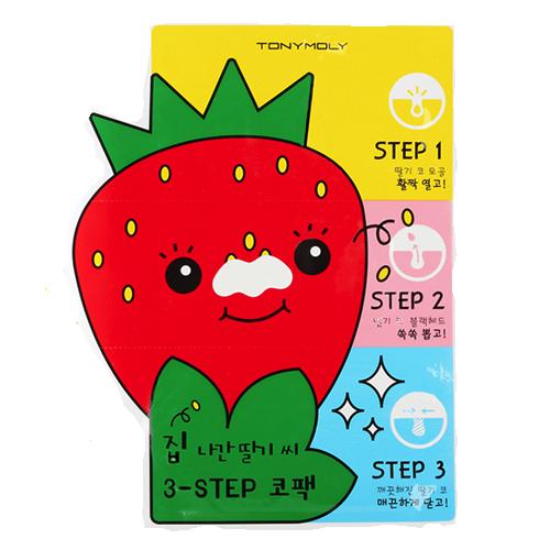 TonyMolyStrawberry3StepNosePack