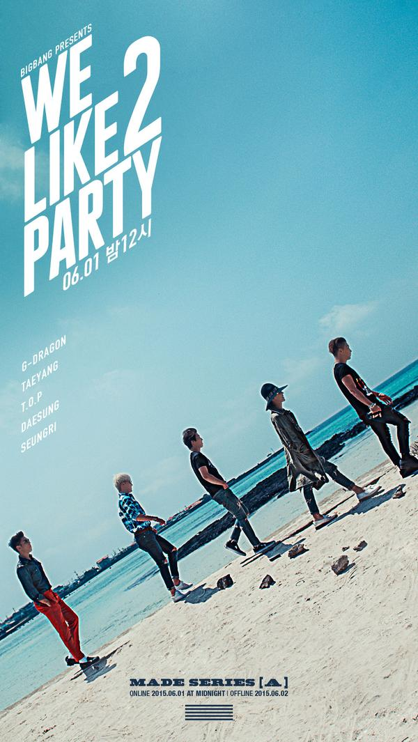 bigbang we like 2 party