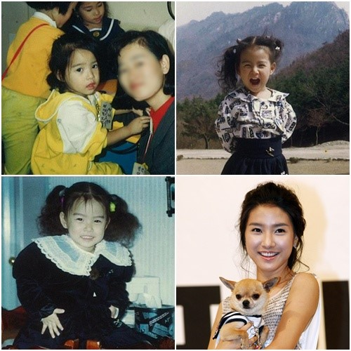 childhood kim so eun