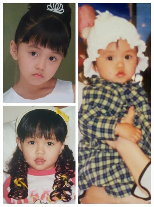 childhood kim so hyun