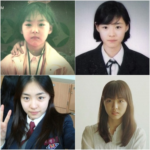 childhood lee yeon hee