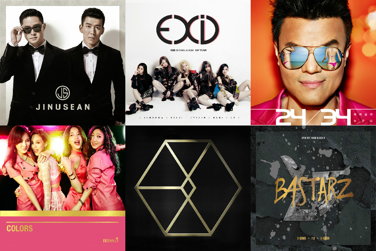 soompi weekly kpop music chart may week 2
