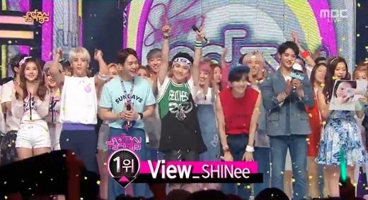 SHINee Music Core Win