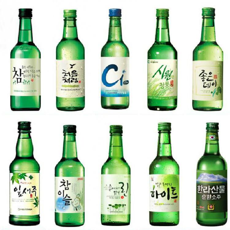 Korean Alcoholic Drinks