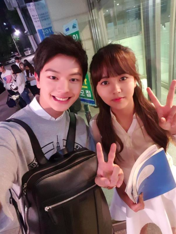 yook sungjae celebrates the last episode of quotwho are you