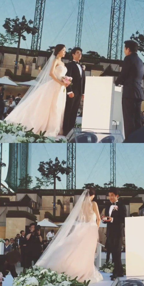 ahn jae wook choi hyun joo wedding