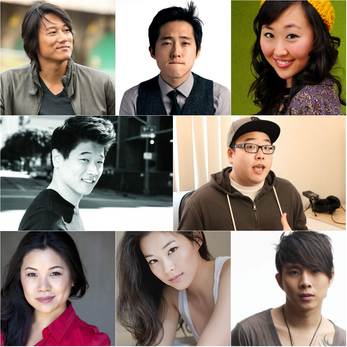 photo collage display ideas - 8 Korean American Actors Who Should Be in K Dramas