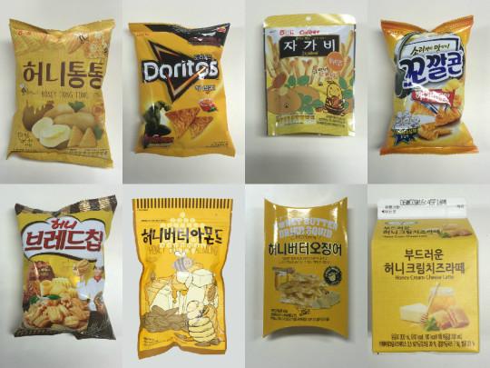 honey butter snacks