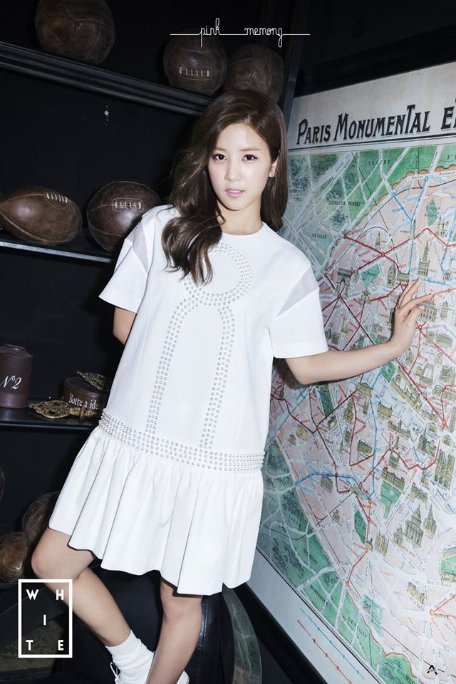 Apink Pink Memory White version teaser image chorong
