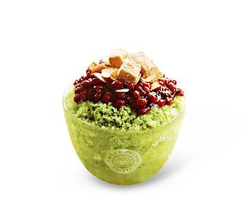 Ediya Green Tea Shaved Ice