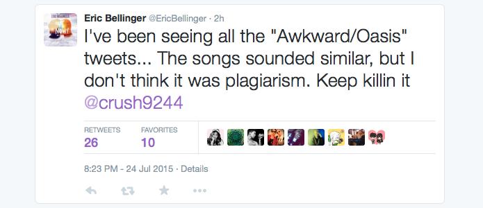 Eric Bellinger Tweet