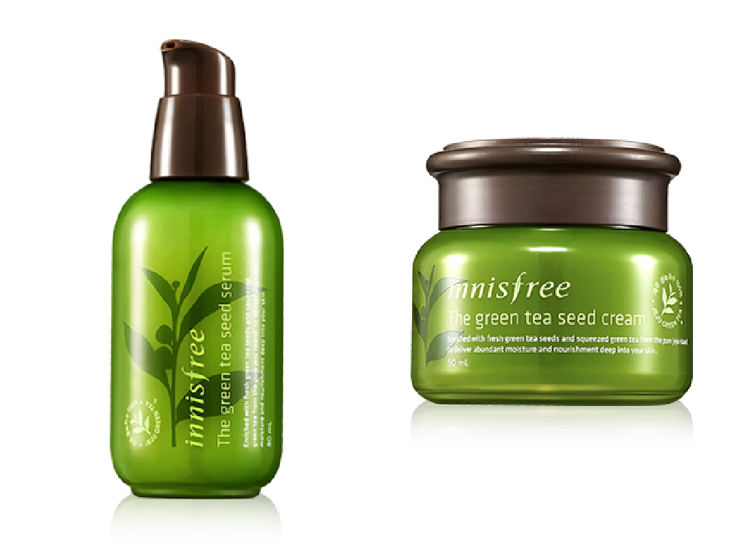 Green Tea Seed Serum and Cream