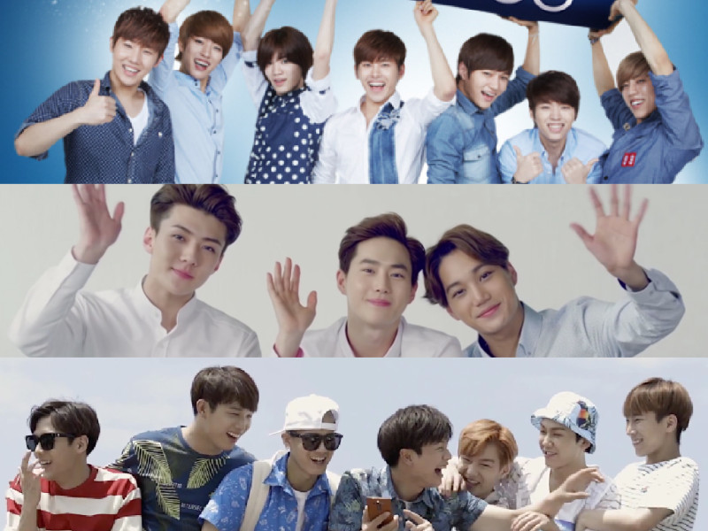 July 2015 CFs: INFINITE, EXO-K, BTOB, and More