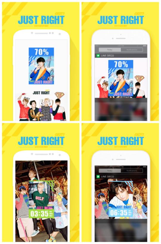 collage widgets GOT7