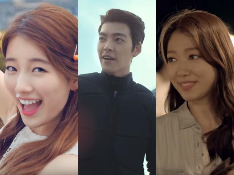 August 2015 CFs: Suzy, Kim Woo Bin, Park Shin Hye, and More