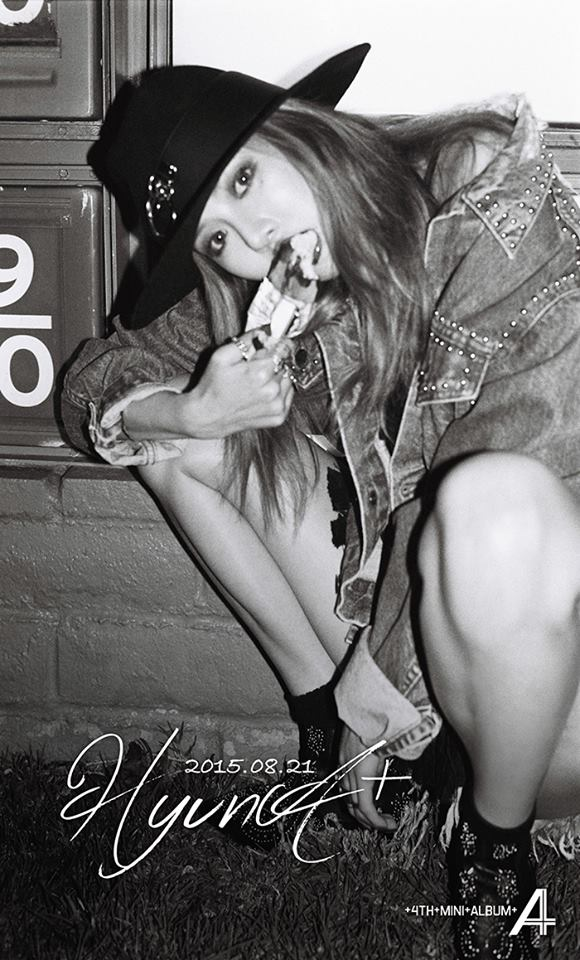 HYUNA - 4th Mini Album 'A+' Teaser Image 3