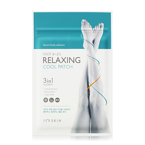 Its Skin Secret Body Solution Foot and Leg Relaxing Cool Patch