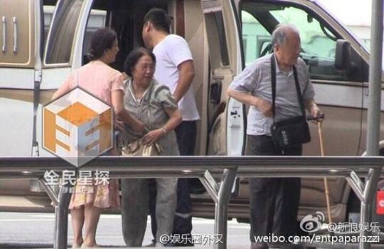 Liu Yifei Family